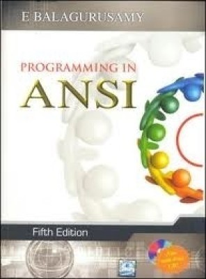 Buy Programming in ANSI C (With CD) (English) 5th Edition: Book