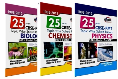 Buy 24 Years CBSE-PMT Topic wise Solved Papers (PCB) (1988 - 2011) (Set of 3 Books) 6th Edition: Book