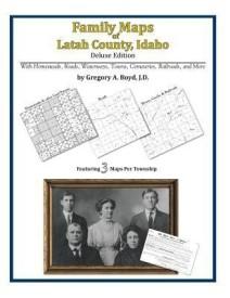 Family Maps of Latah County, Idaho (English) (Paperback)