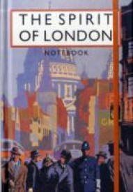 The Spirit of London Notebook (English) (Hardcover)
