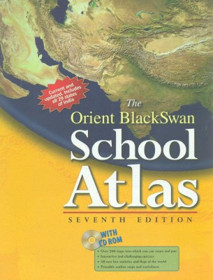 Orient Black Swan School Atlas 7/e price comparison at Flipkart, Amazon, Crossword, Uread, Bookadda, Landmark, Homeshop18