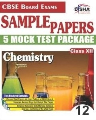Buy CBSE Board Exams Sample Papers: Chemistry 5 Mock Test Package (Class - 12): Book