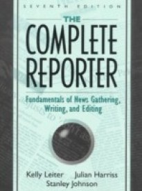 The Complete Reporter (English) (Paperback)