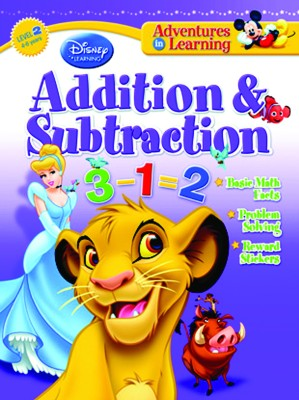 Buy Adventures in Learning: Addition and Subtraction by disney;-English-The Walt Disney-Paperback: Book