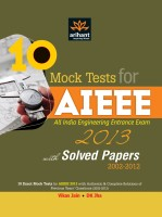10 Mock Tests for AIEEE All India Engineering Entrance Exam 2013 by Jain Vikas|Author;Jha DK|Author;-English-Arihant-Paperback (English): Book