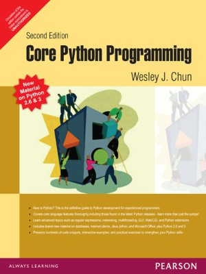 Buy Core Python Programming 2ndEditon Edition (English) 2ndEditon Edition: Book