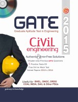 GATE 2015 - Civil Engineering (With CD) (English) 12th Edition: Book