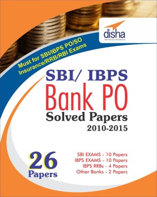 SBI & IBPS Bank PO Solved Papers - 26 papers (English) price comparison at Flipkart, Amazon, Crossword, Uread, Bookadda, Landmark, Homeshop18