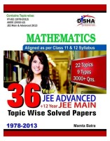 36 Year JEE Advanced Plus 12 Year JEE Main : Mathematics - Topic Wise Solved Papers: Book