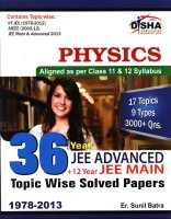 36 Year JEE Advanced Plus 12 Year JEE Main : Physics - Topic Wise Solved Papers (English): Book