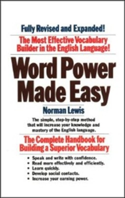 Buy Word Power Made Easy - The Complete Handbook for Building a Superior Vocabulary (English): Book