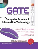 GATE 2015 - Computer Science & Information Technology (With DVD) (English) 12th Edition: Book