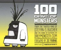 100 Days of Monsters [With DVD] (English): Book