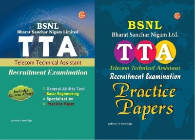 Buy COMBO PACK STUDY GUIDE TTA & Pratice Papers, (BSNL) Recruitment Exam. (English) 1st  Edition: Book