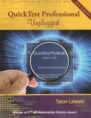 Buy Quicktest Professional Unplugged Covers Version 11.00 (English) 2nd Edition: Book