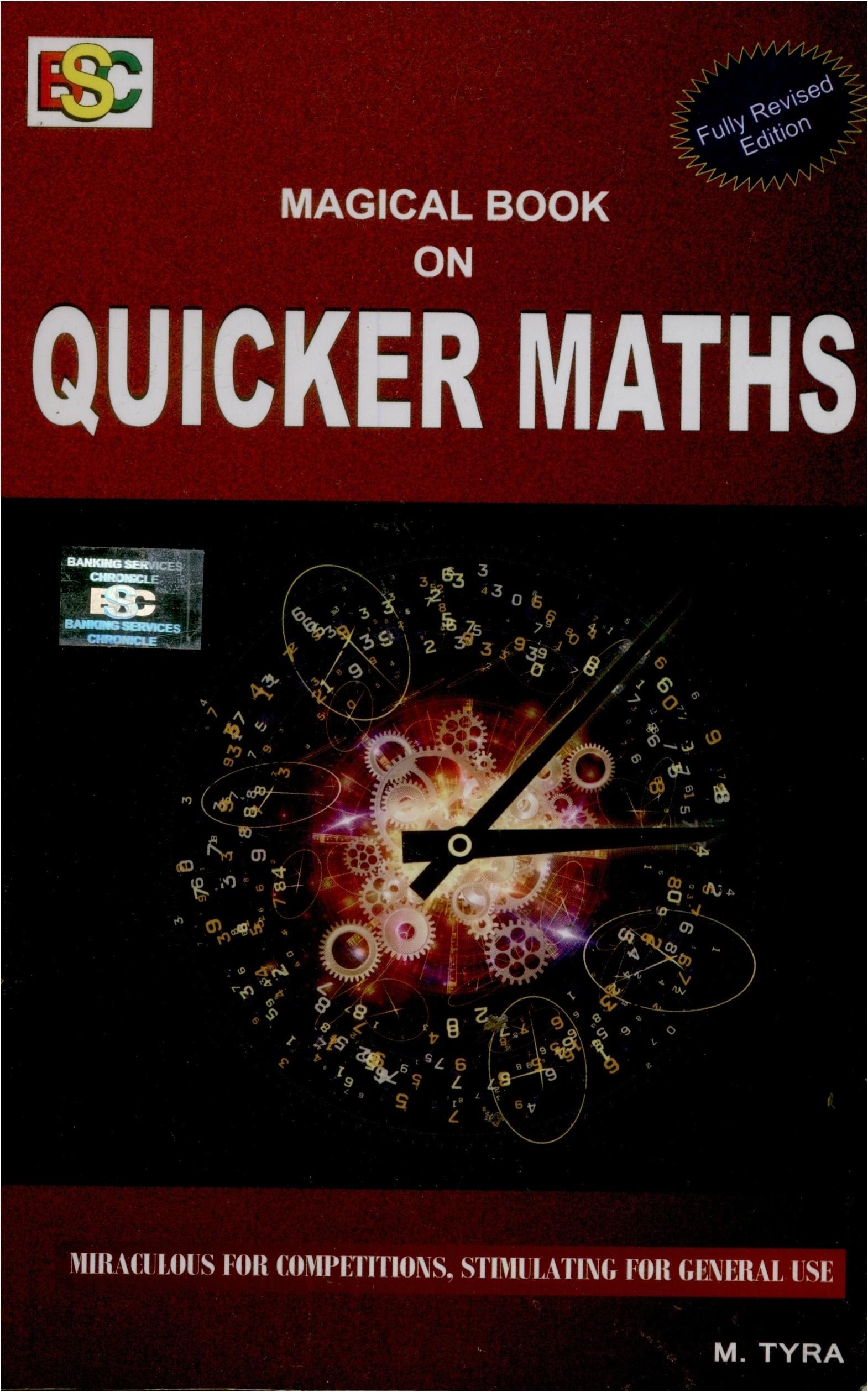Ap Math Books Magical Book On Quicker Maths Original Imadmcstcyggxnf
