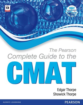The Pearson Complete Guide to the CMAT(With CD-ROM) 1st  Edition price comparison at Flipkart, Amazon, Crossword, Uread, Bookadda, Landmark, Homeshop18