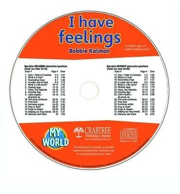 I Have Feelings - CD Only (English)