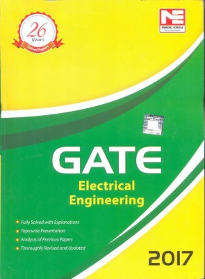 GATE-2017 : Electrical Engineering Solved Papers (English) (English) price comparison at Flipkart, Amazon, Crossword, Uread, Bookadda, Landmark, Homeshop18