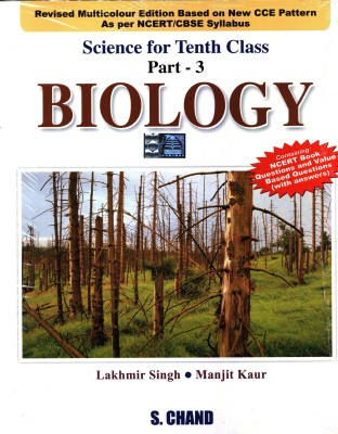 Buy Biology: Science For Class - 10 (Part - 3) (English) 1st Edition: Book