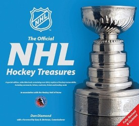 The Official NHL Hockey Treasures (English) (Hardcover)