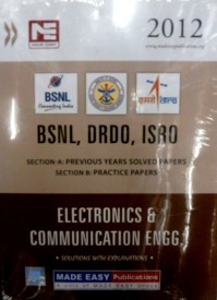 BSNL DRDO ISRO: Electronic and Communication Engineering Previous Year Solved Papers (English) 1st Edition (Paperback)