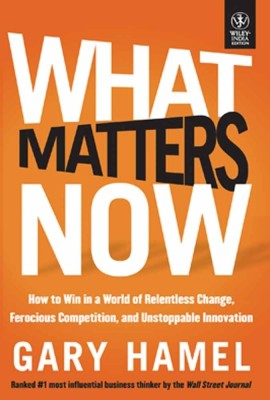 Buy WHAT MATTERS NOW (English): Book