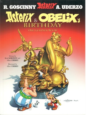 Buy Asterix and Obelix's Birthday : The Golden Book 34: Book