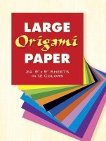 Large Origami Paper (English): Book