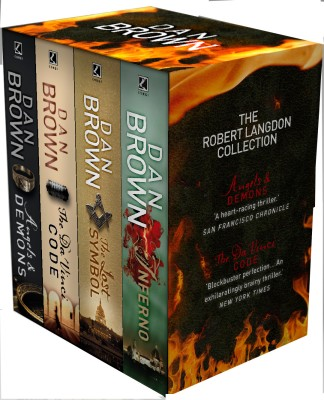 Compare The Robert Langdon Collection (Set of 4 Volumes) (English) at Compare Hatke