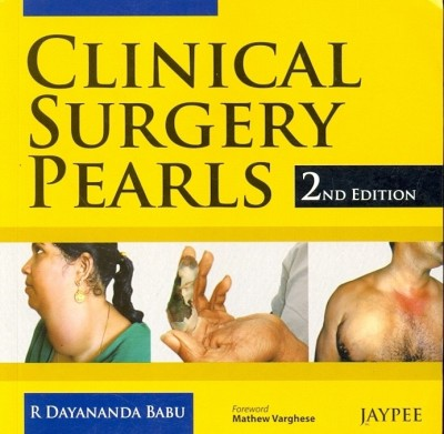 Clinical Surgery Pearls 2 Edition price comparison at Flipkart, Amazon, Crossword, Uread, Bookadda, Landmark, Homeshop18