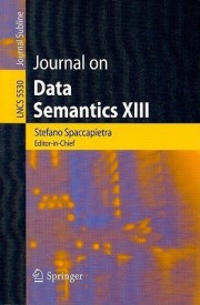 Journal on Data Semantics XIII (English) (Paperback)