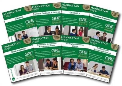 Manhattan Prep GRE Set of 8 Strategy Guides 3rd Edition price comparison at Flipkart, Amazon, Crossword, Uread, Bookadda, Landmark, Homeshop18