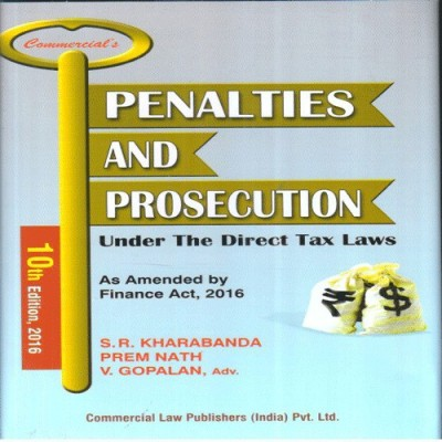 Book on Penalties and Prosecution under Direct Tax