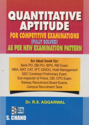 Compare Quantitative Aptitude For Competitive Examinations (English) 7th Revised  Edition at Compare Hatke