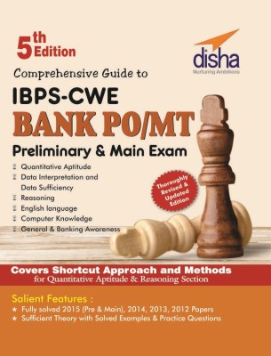 Comprehensive Guide to IBPS-CWE Bank PO/ MT Prelim + Main Exam (5th Edition) (English) price comparison at Flipkart, Amazon, Crossword, Uread, Bookadda, Landmark, Homeshop18