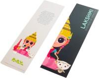Paapaya Lakshmi (pack Of 10) Regular Bookmark (Religious, Green)
