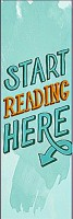 Trophydeal Start Reading Hear Matte Paper Bookmark (For Book Lovers, Multicolor)