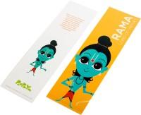 Paapaya Rama (pack Of 10) Regular Bookmark (Religious, Orange)