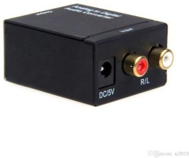 DivineXt Digital Optical Coaxial Optical to Analog RCA Audio Converter+Adapter Boom Box