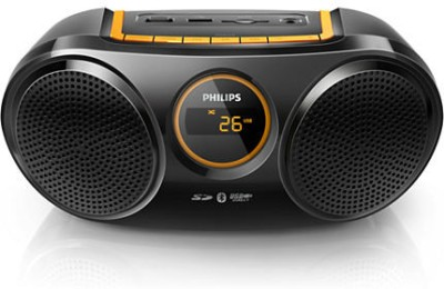 Philips Bluetooth USB Direct SD FM Digital Tuner (AT10/00) Boom Box