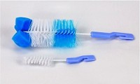 Imported Baby Feeding Bottle Cleaning Brush (Multicolor)