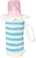 Tumble Sky Blue Crochet Baby Bottle Cover (Blue)
