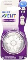 Philips Avent BPA Free Natural Medium Flow Nipples Medium Flow Nipple (Pack Of 1 Nipple)