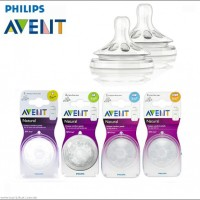 Philips Avent BPA Free Nipples Variable Flow Nipple (Pack Of 4 Nipples)