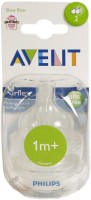 Avent Philips Classic Bottles Medium Flow Nipple (Pack Of 2 Nipples)