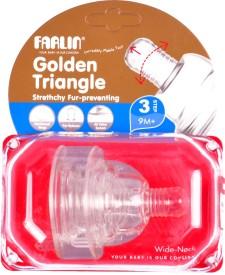farlin Stretchy Anti Colic Wide Neck Fast Flow Nipple