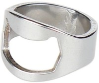 Pack N Buy Stainless Steel Finger Ring Bottle Opener (Pack Of 1)