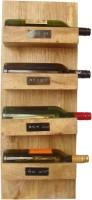 Craftsmen Delfos Wooden Wine Rack (Brown, 4 Bottles)