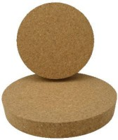 Advance Cork International Lid (25 Mm Length X 75 Mm Top X 67 Mm Bottom) Wooden Bottle Stopper (Beige)